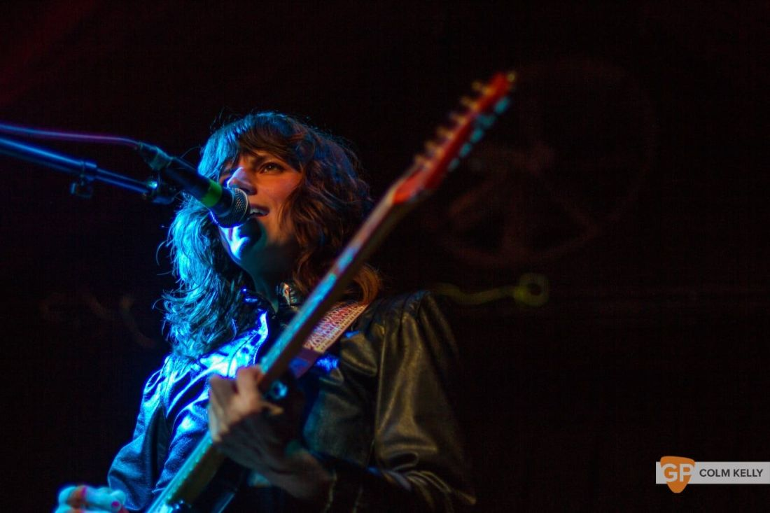 Eleanor Friedberger at The Grand Social 18.8.2018 by Colm Kelly-8-7