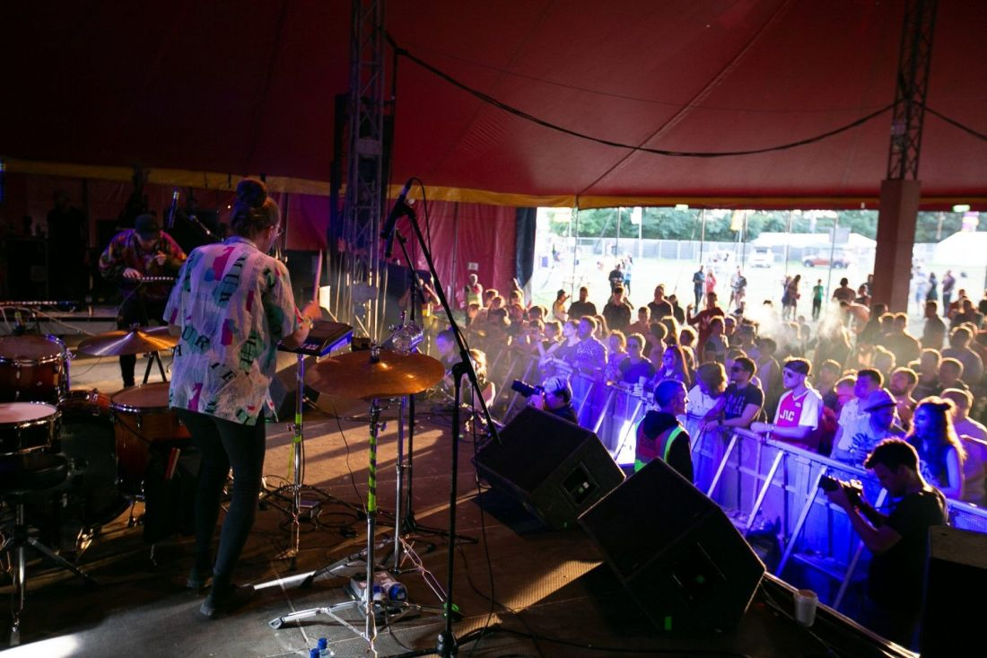 Le Boom perform at Indiependence Festival 2018 by Kieran Frost