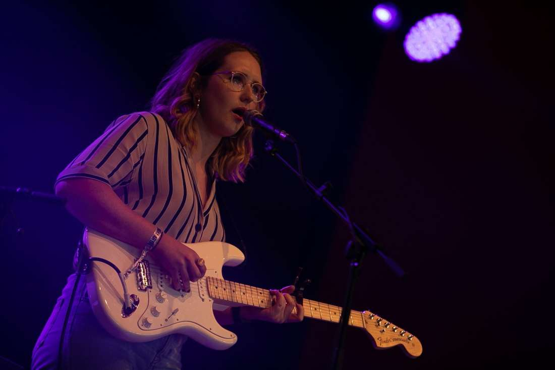 Lilla Vargen perform at Indiependence Festival 2018 by Kieran Fr