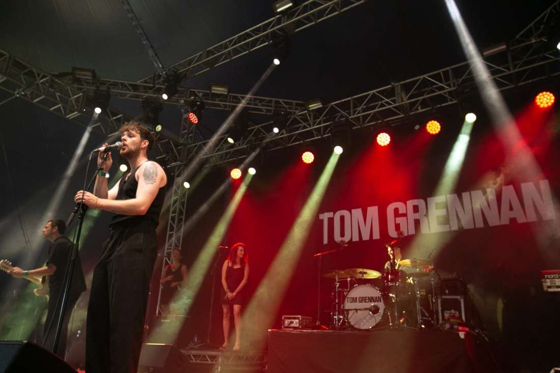 Tom Grennan perform at Indiependence Festival 2018 by Kieran Fro