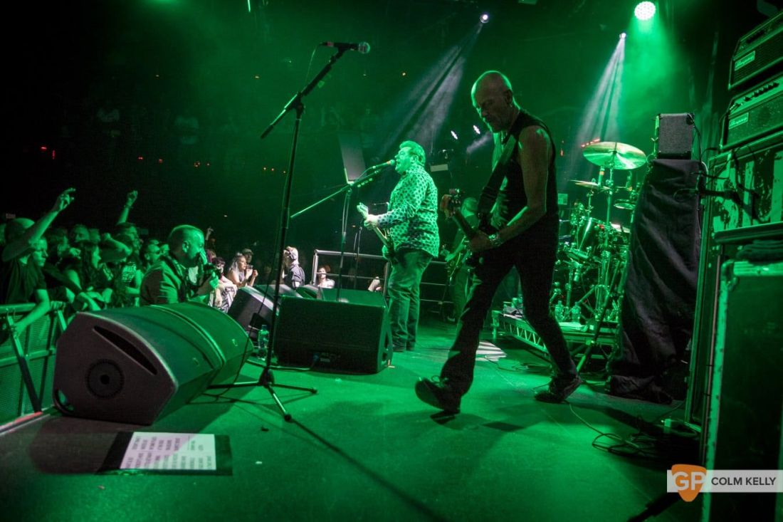 Stiff Little Fingers at The Academy, Dublin 24.8.2018 by Colm Kelly-1928