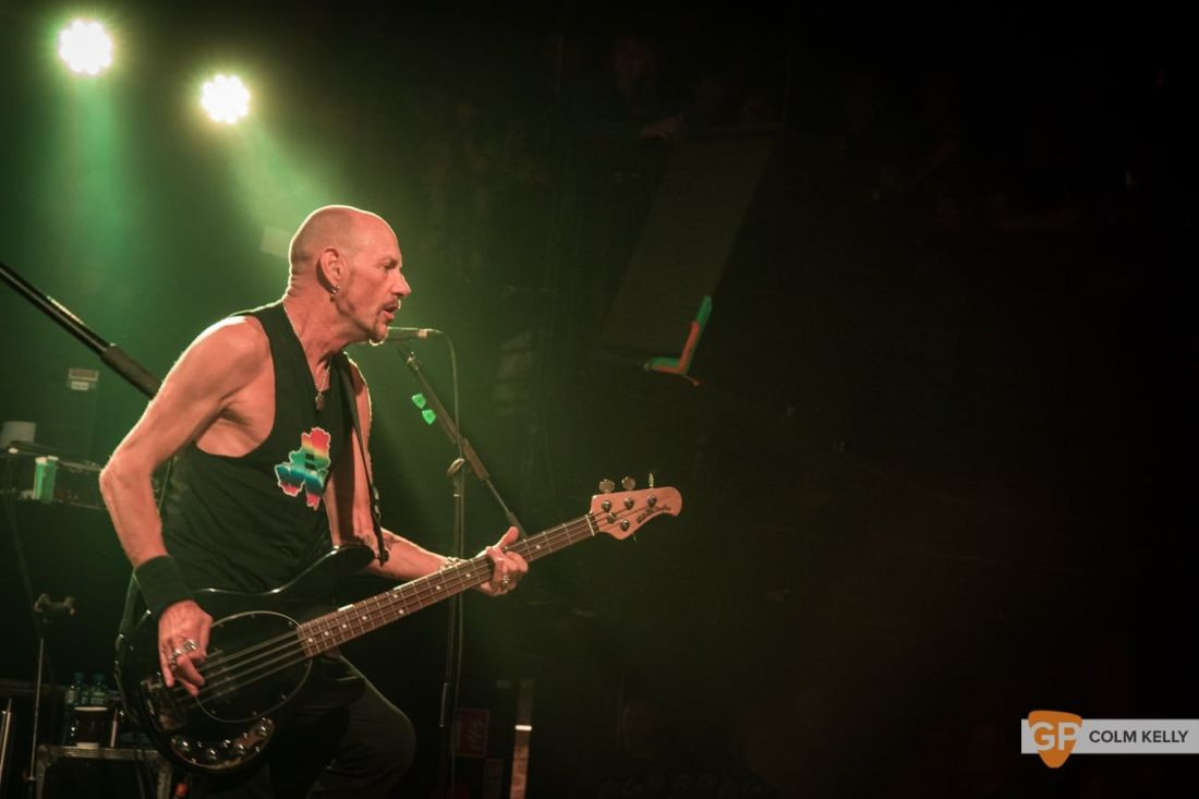 Stiff Little Fingers at The Academy, Dublin 24.8.2018 by Colm Kelly–2