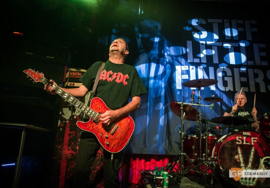 Stiff Little Fingers at The Academy, Dublin 24.8.2018 by Colm Kelly-2580