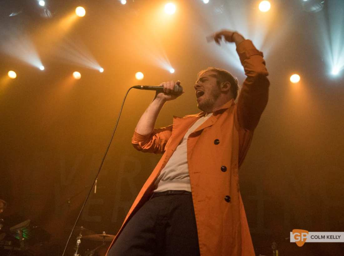 Everything Everything at The Olympia Theatre, Dublin by Colm Kelly-0934