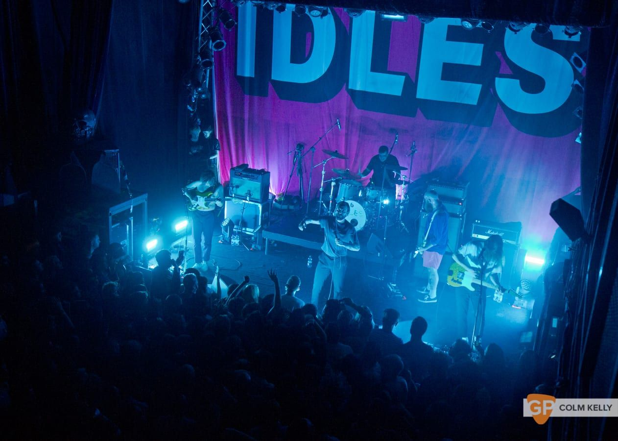 Idles at The Button Factory, Dublin by Colm Kelly