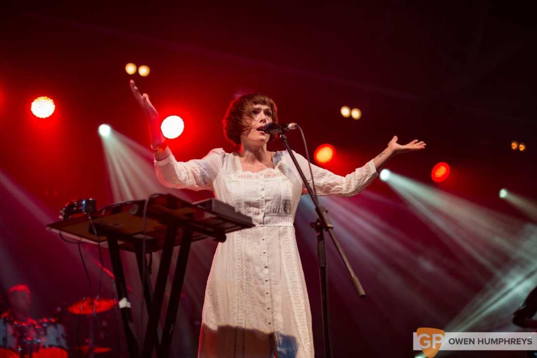 Gwenno live at Metropolis 2018. Photo by Owen Humphreys www.owen.ie