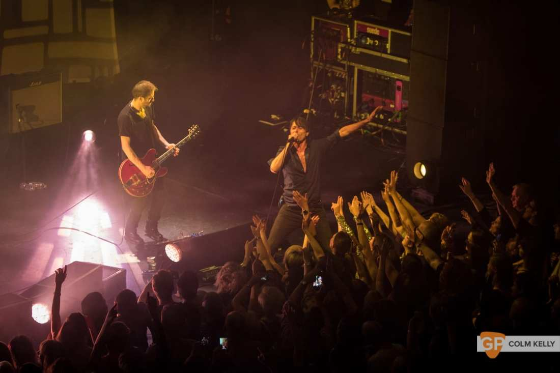Suede at The Bord Gais Energy Theatre, Dublin by Colm Kelly-1285