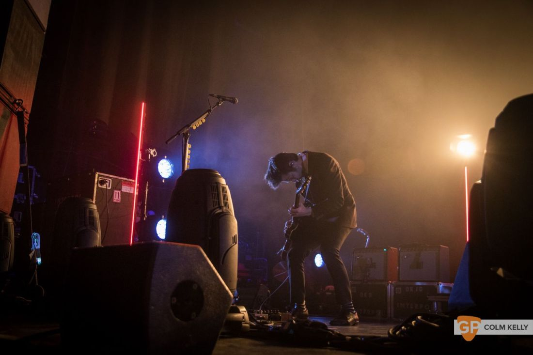 Interpol at The Olympia Theatre, Dublin by Colm Kelly-149