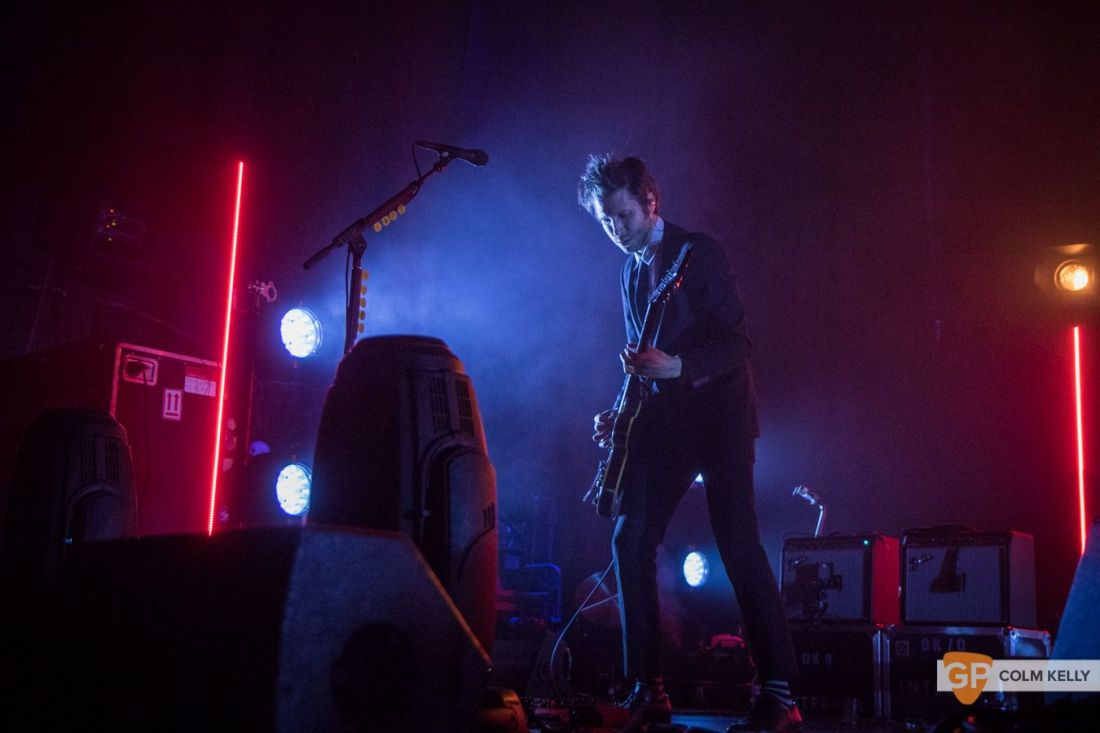 Interpol at The Olympia Theatre, Dublin by Colm Kelly-151