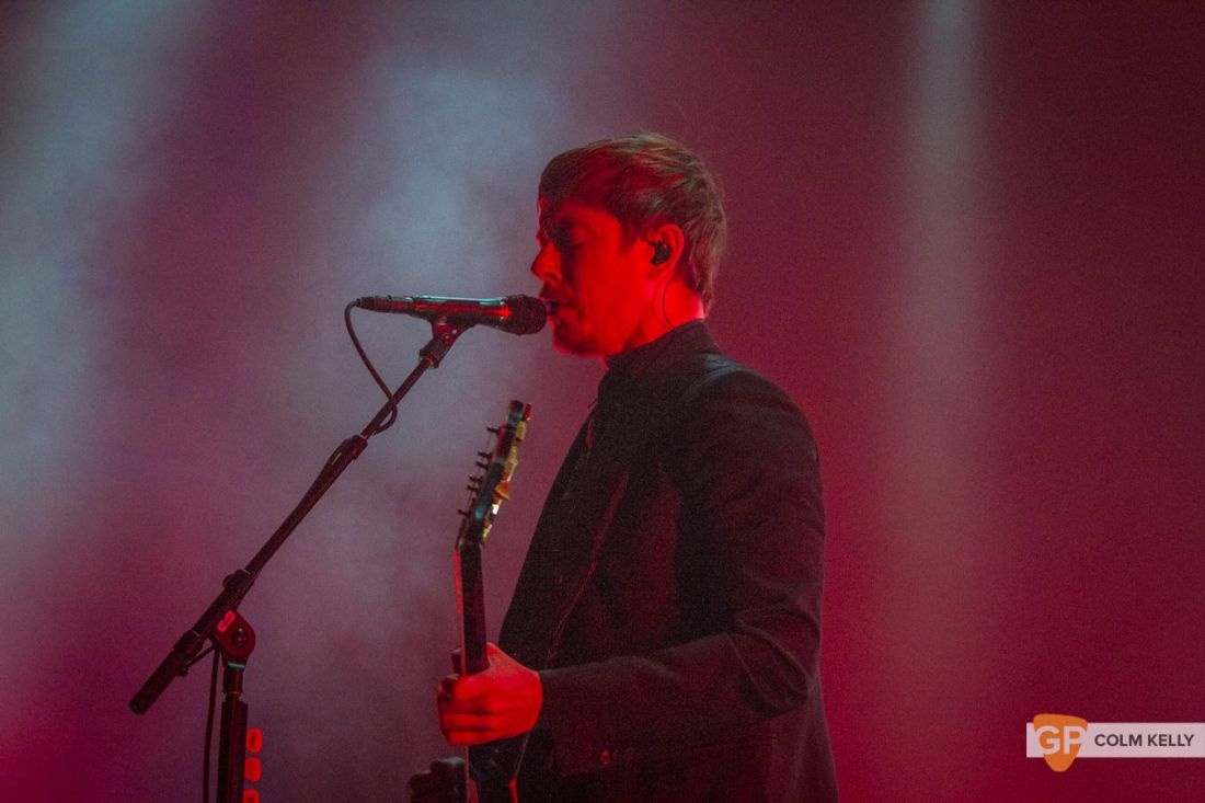 Interpol at The Olympia Theatre, Dublin by Colm Kelly-202