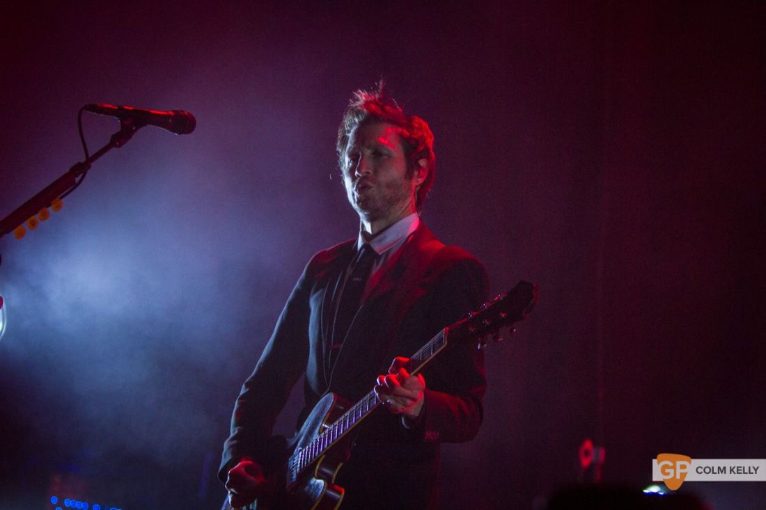 Interpol at The Olympia Theatre, Dublin by Colm Kelly-216