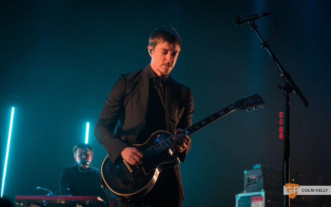 Interpol at The Olympia Theatre, Dublin by Colm Kelly-53