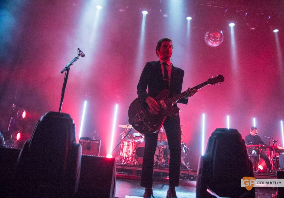 Interpol at The Olympia Theatre, Dublin by Colm Kelly-72