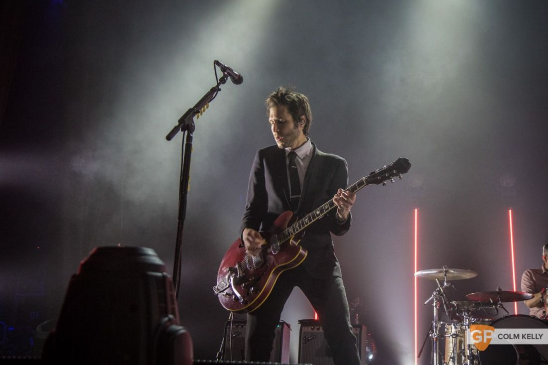 Interpol at The Olympia Theatre, Dublin by Colm Kelly-86