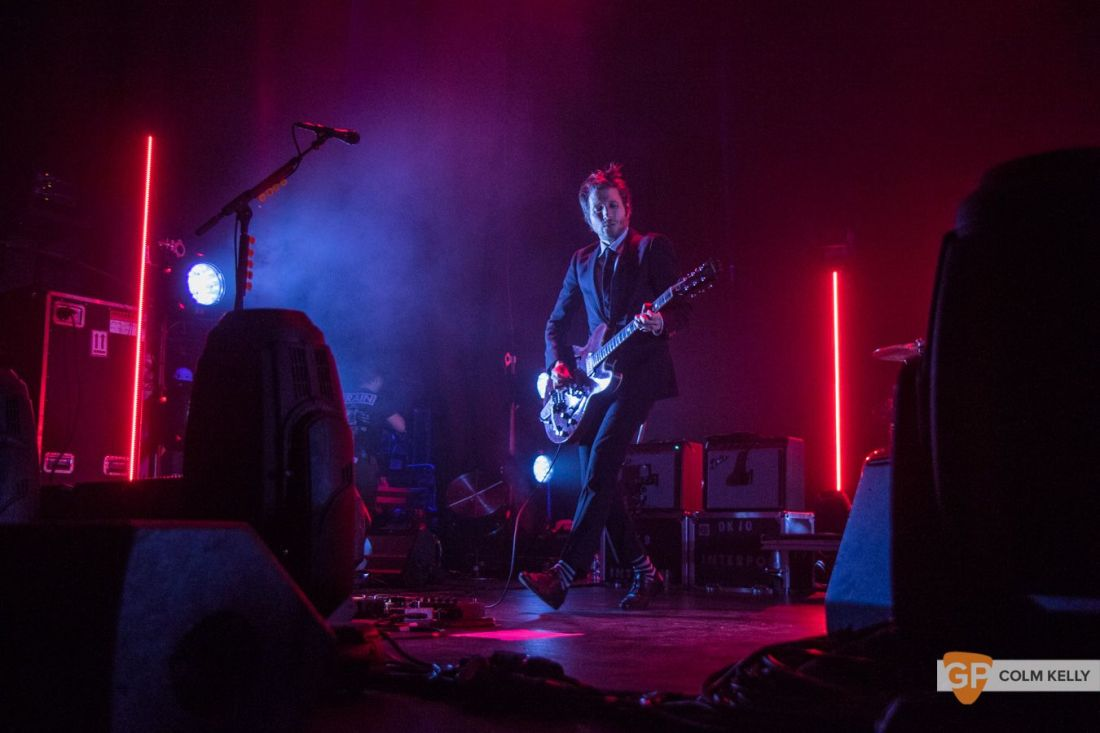 Interpol at The Olympia Theatre, Dublin by Colm Kelly-98