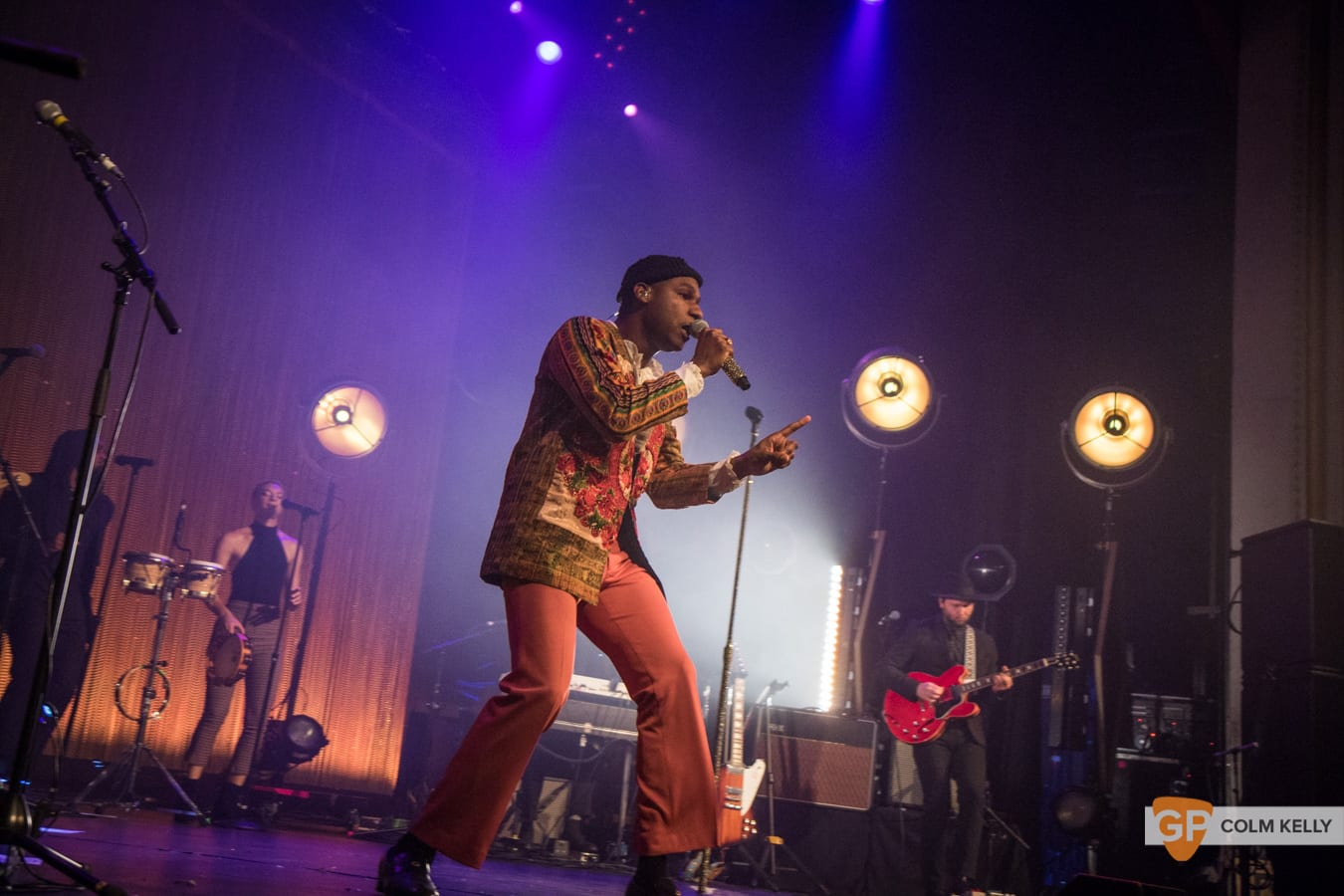 Leon Bridges at The Olympia Theatre, Dublin by Colm Kelly-322
