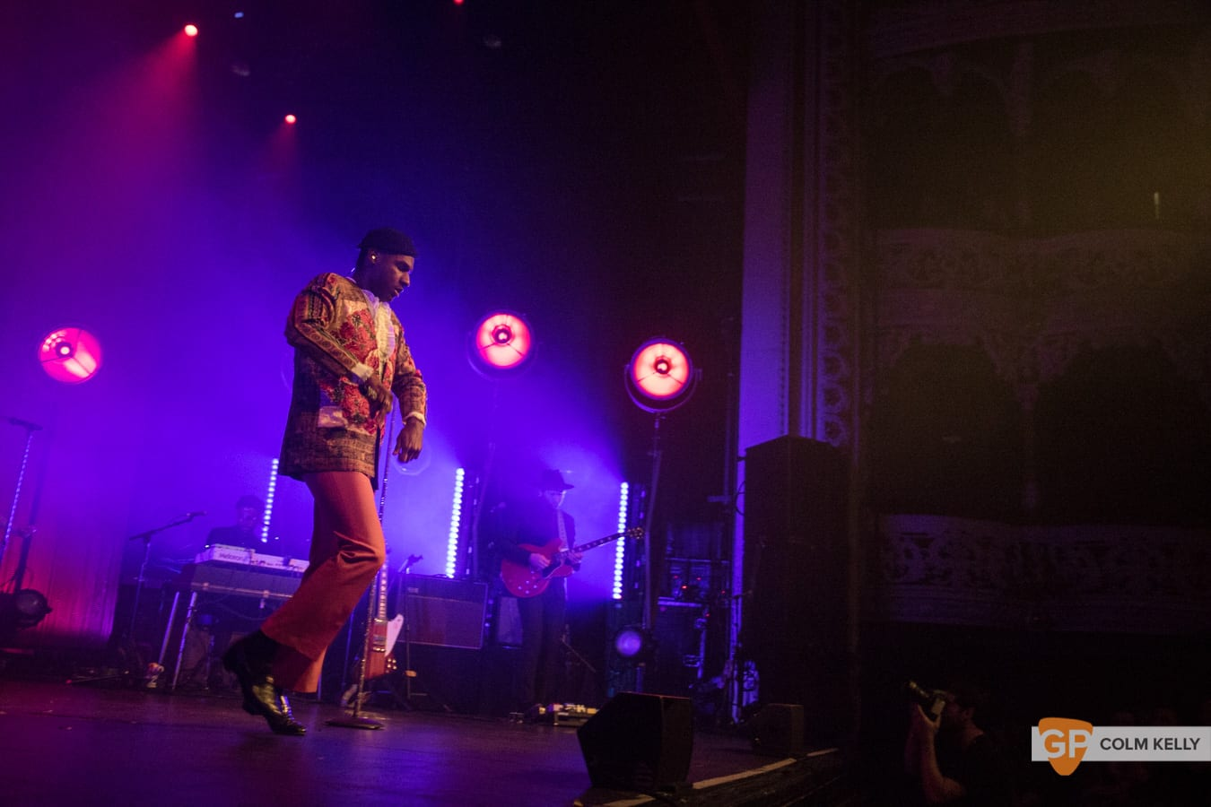 Leon Bridges at The Olympia Theatre, Dublin by Colm Kelly-554