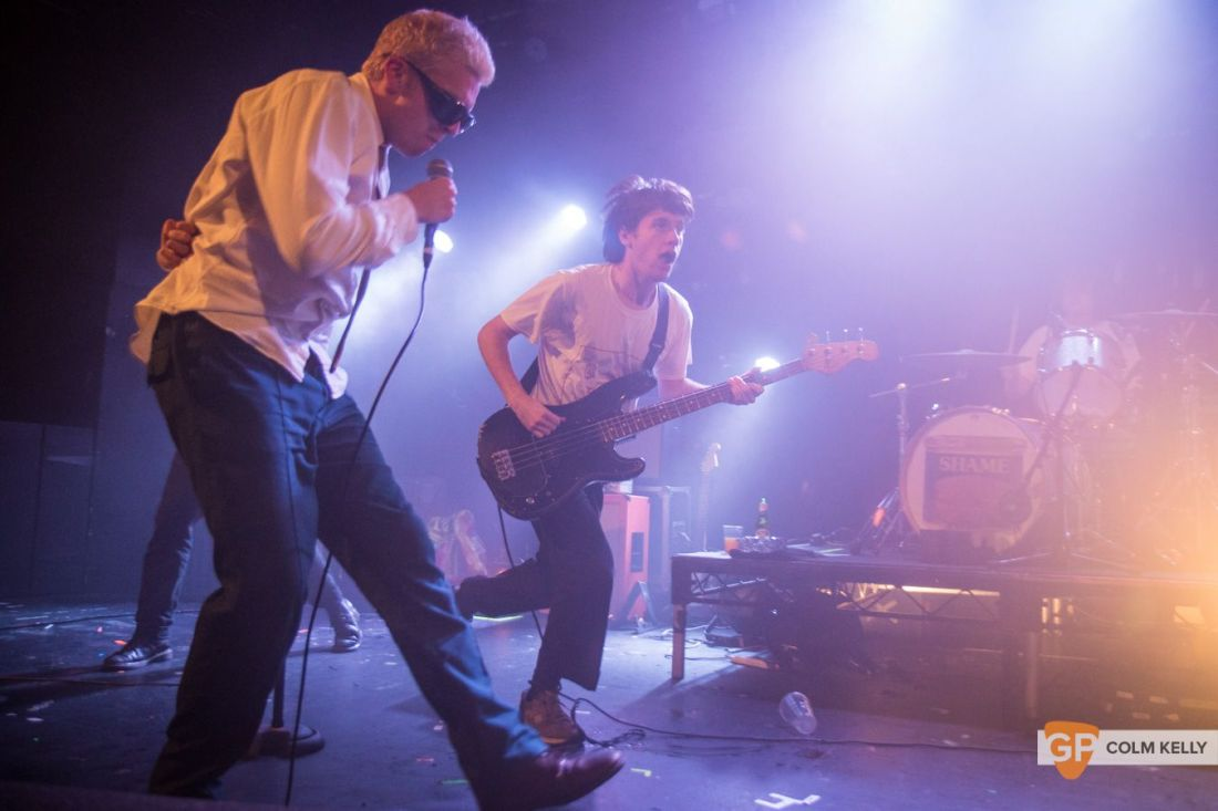 Shame at The Tivoli Theatre , Dublin by Colm Kelly