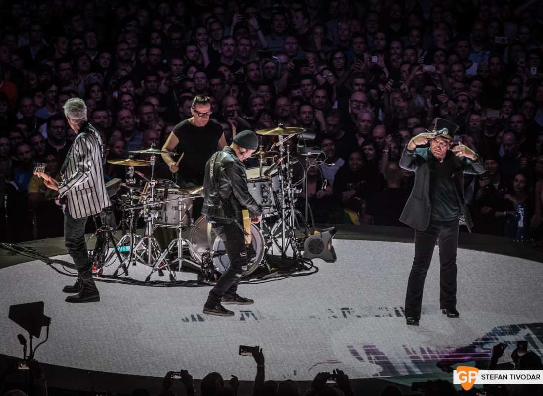 U2 6 NOVEMBER 2018 Dublin Tivodar 25