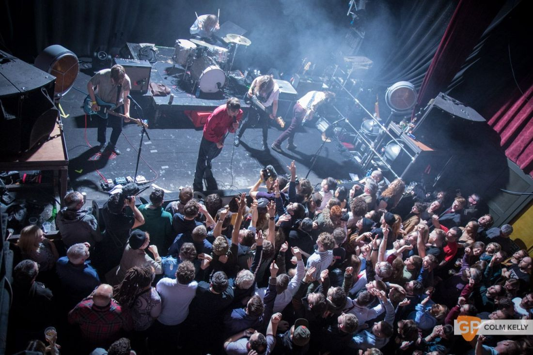 Fontaines DC at The Button Factory, Dublin by Colm Kelly-134