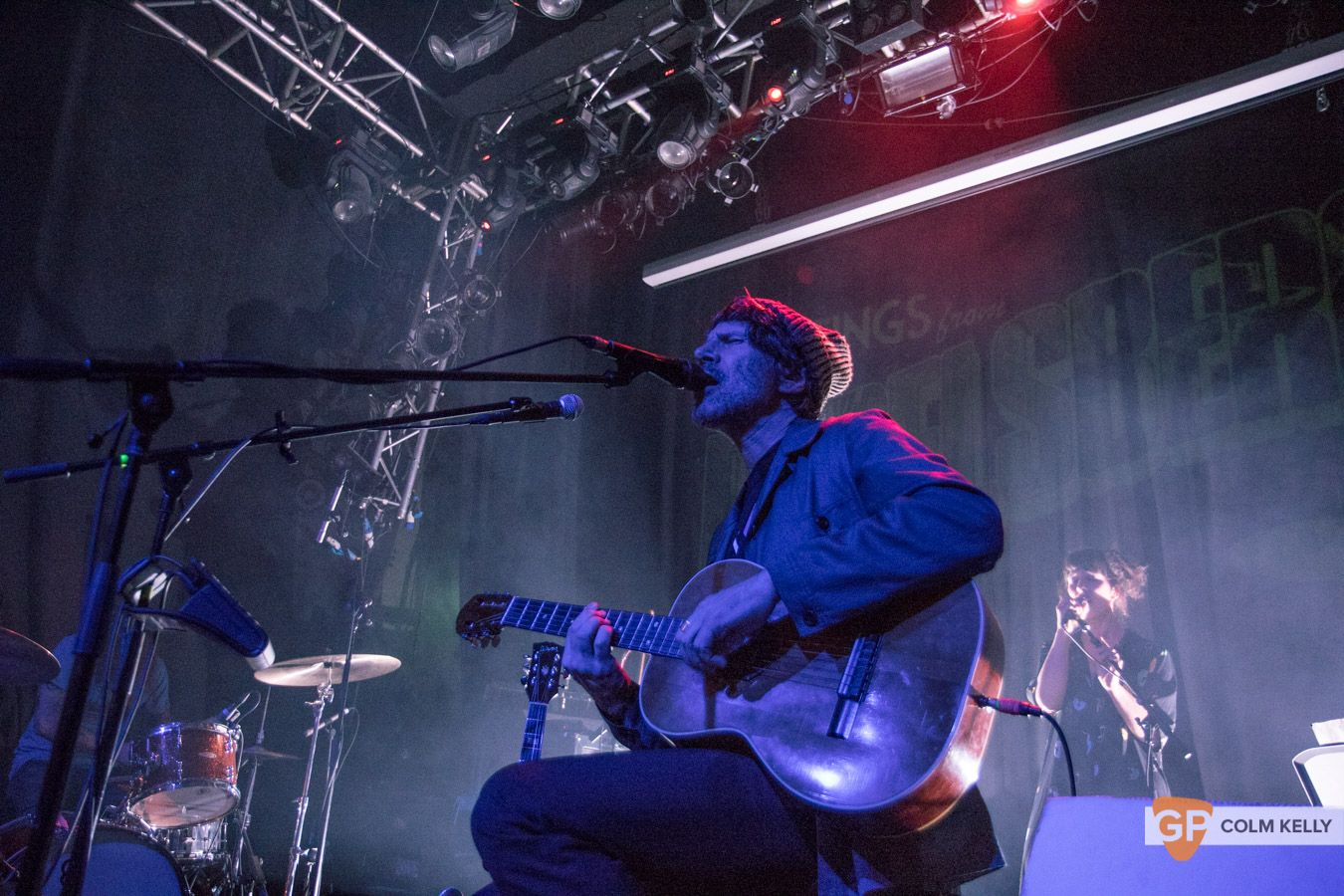 Gruff Rhys at The Button Factory, Dublin by Colm Kelly-171