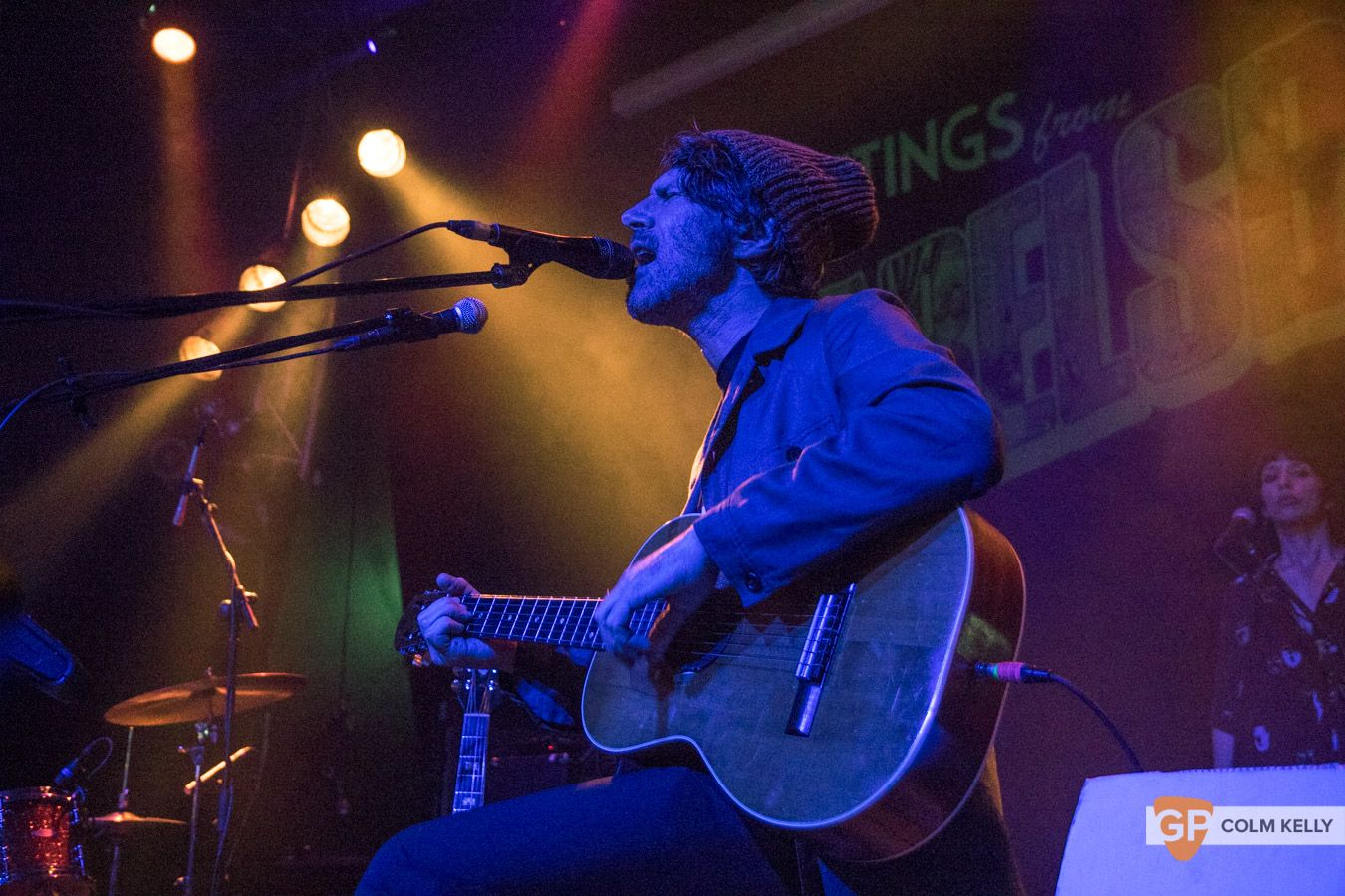 Gruff Rhys at The Button Factory, Dublin by Colm Kelly-68