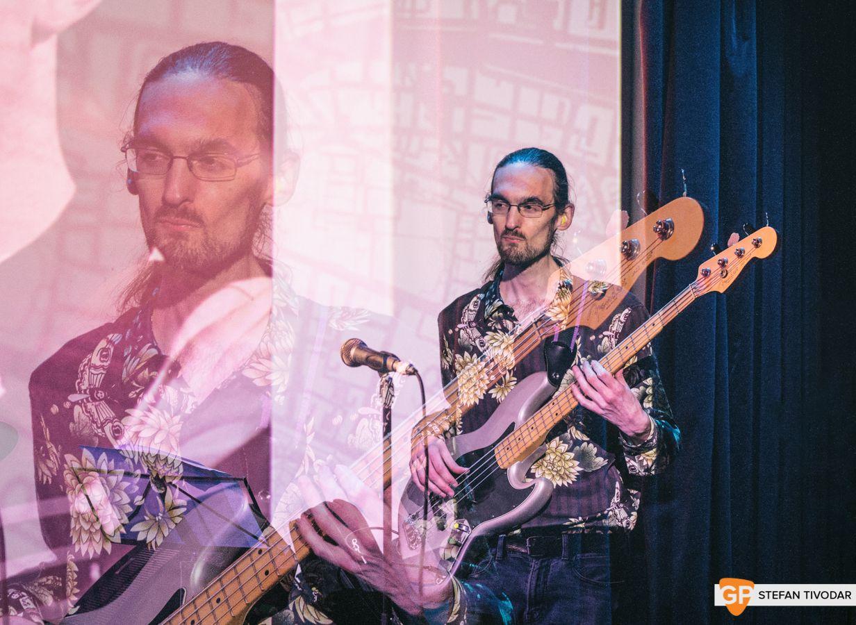 Kev Higgins GoldenPlec Bloc Party Jam 2018 Sugar Club- 1