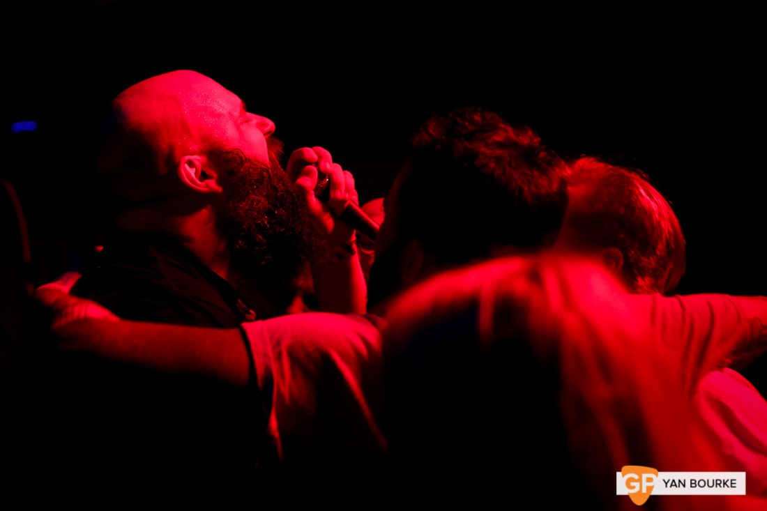 Fucked Up at the Grand Social on 19 January 2019 by Yan Bourke
