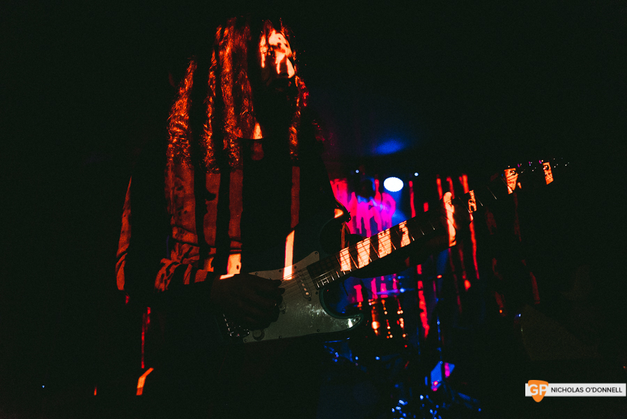 Uncle Acid and the Deadbeats at The Academy Green Room by Nicholas O'Donnell.