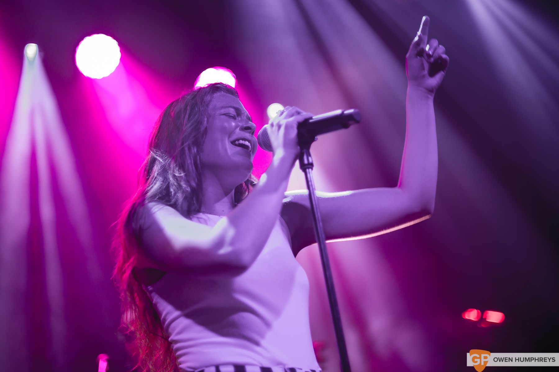 Maggie Rogers at the Academy. Photo by Owen Humphreys. www.owen.ie