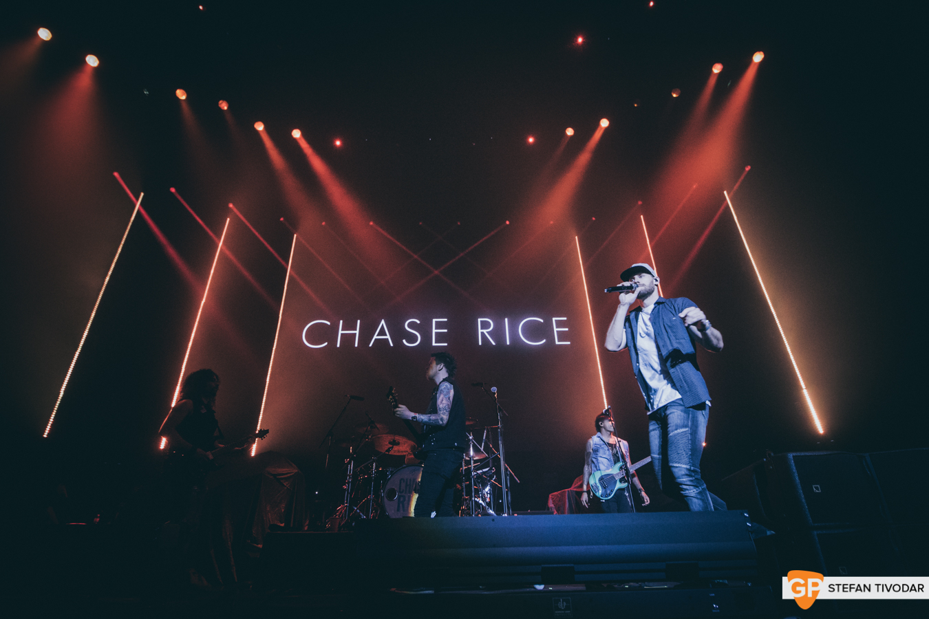Chase Rice Country to Country Dublin day 3 March 2019 3 Arena Tivodar 3