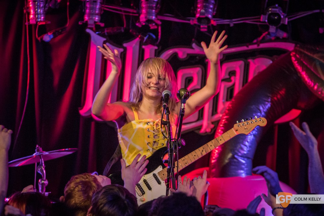 Cherry Glazerr at Whelan's by Colm Kelly-55