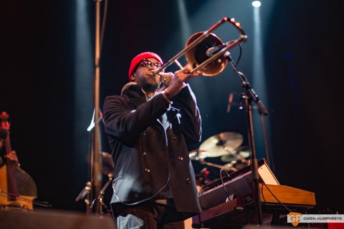 Kamasi Washington at The Olympia Theatre. Photo by Owen Humphreys. www.owen.ie