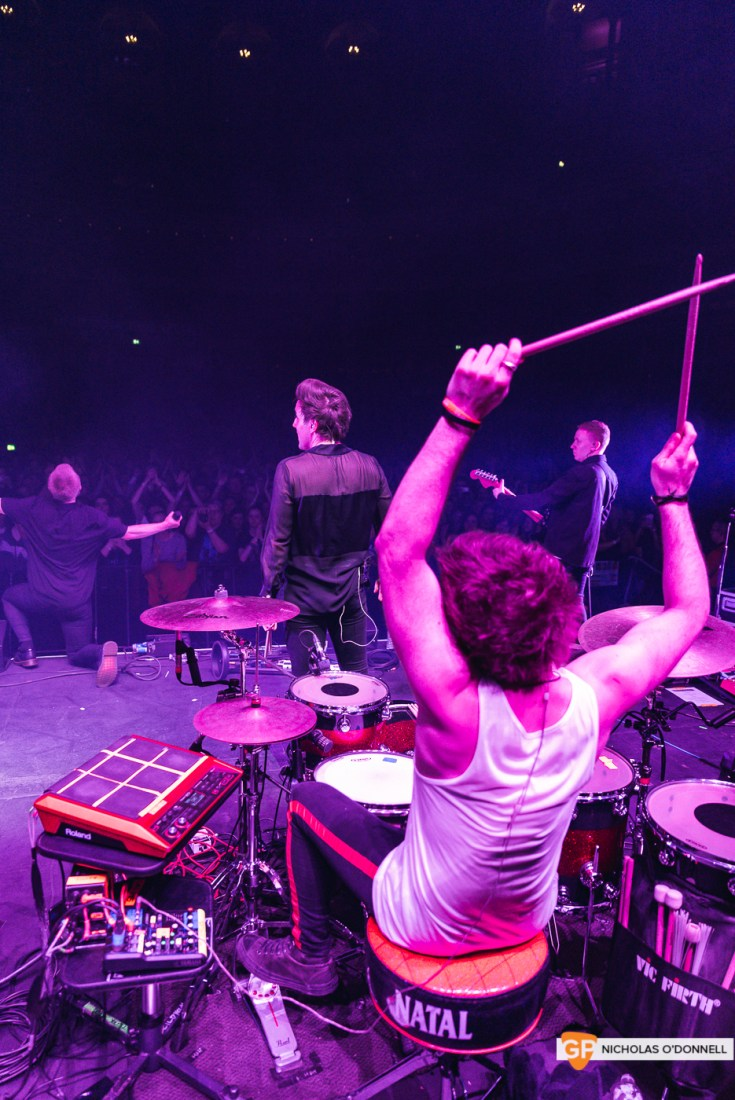 Wild Youth supporting The Script in the Royal Albert Hall, London. Photo by Nicholas O'Donnell. (17 of 20)