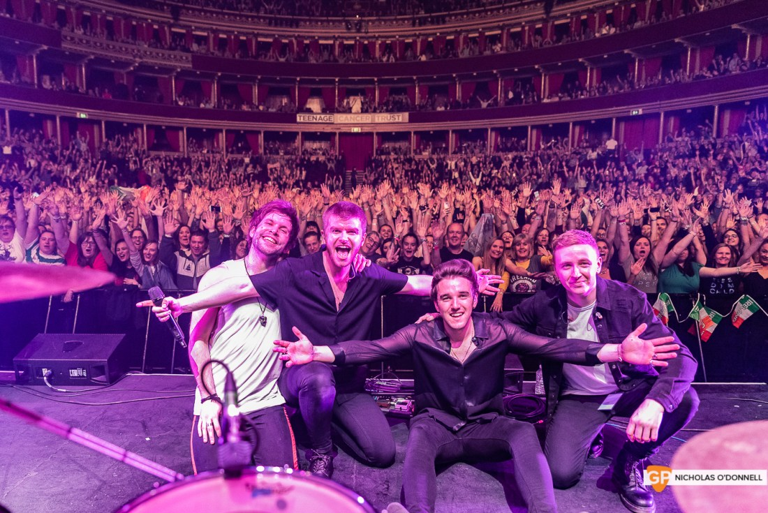 Wild Youth supporting The Script in the Royal Albert Hall, London. Photo by Nicholas O'Donnell. (19 of 20)