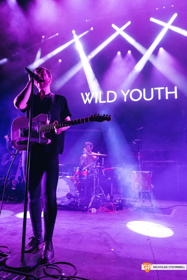 Wild Youth supporting The Script in the Royal Albert Hall, London. Photo by Nicholas O'Donnell. (3 of 20)