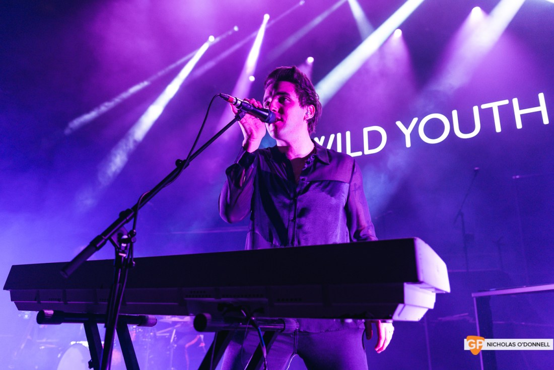 Wild Youth supporting The Script in the Royal Albert Hall, London. Photo by Nicholas O'Donnell. (5 of 20)