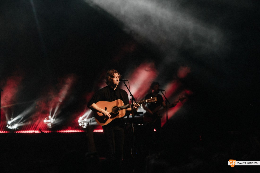 Dean Lewis live at Vicar St, Dublin. Photographed by Zyanya Lorenzo.