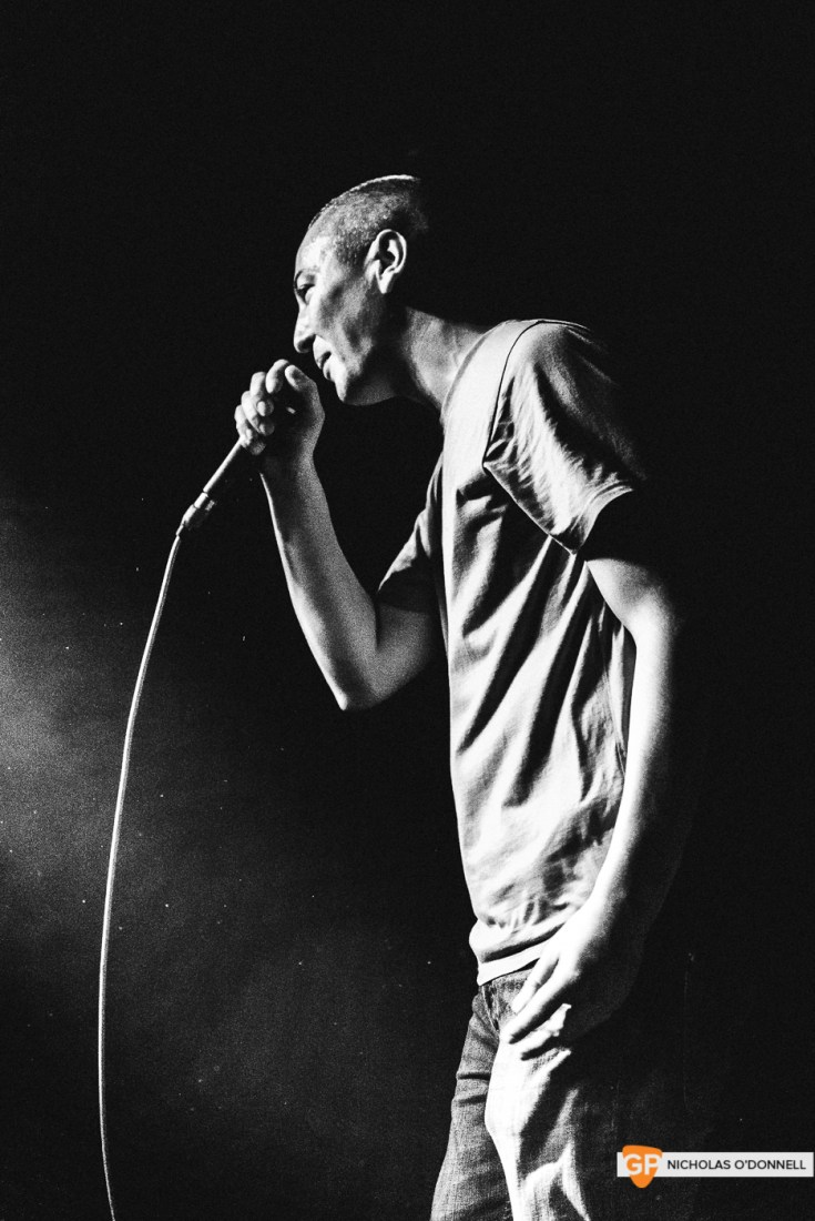 Devlin performing in The Grand Social. Photographs by Nicholas O'Donnell.