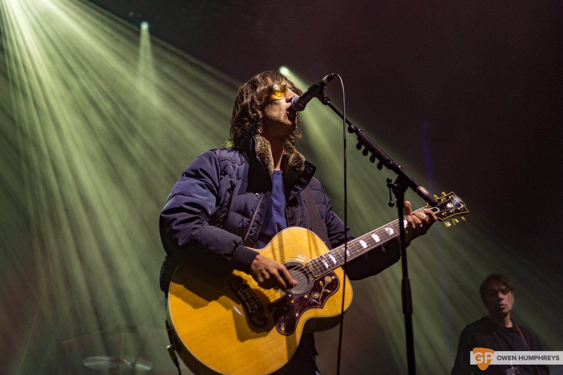 Richard Ashcroft at the Olympia Theatre. Photo by Owen Humphreys. www.owen.ie
