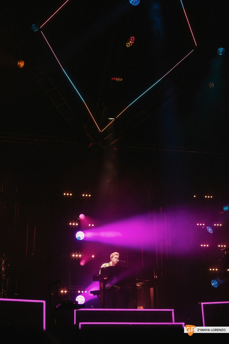 Kodaline live at St Anne's Park, Dublin. Photographed by Zyanya Lorenzo