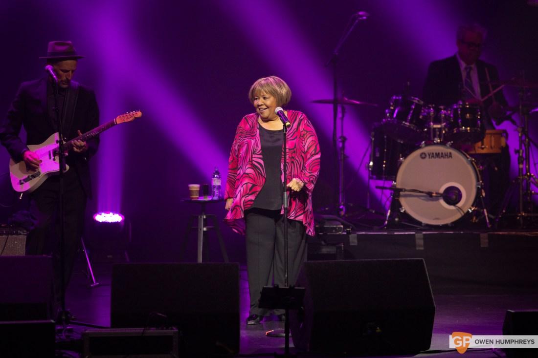 Mavis Staples at The Olympia Theatre. Photo by Owen Humphreys. www.owen.ie
