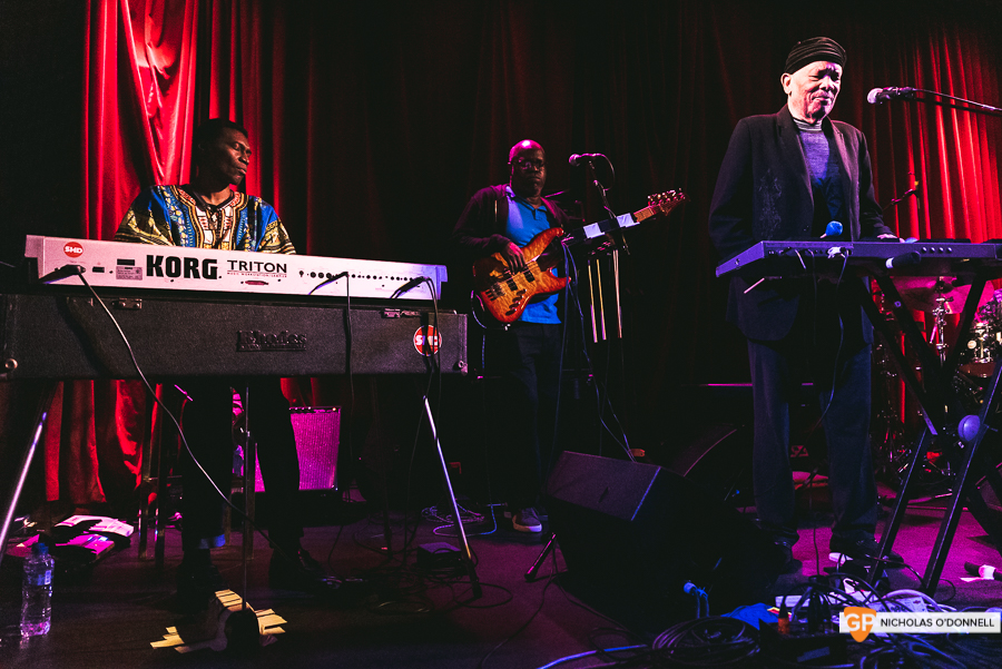 Roy Ayers peforming in The Sugar Club, Dublin. Photographs by Nicholas O'Donnell. (10 of 15)