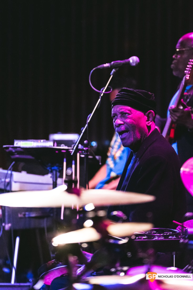Roy Ayers peforming in The Sugar Club, Dublin. Photographs by Nicholas O'Donnell. (11 of 15)
