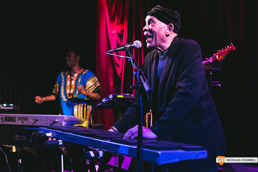 Roy Ayers peforming in The Sugar Club, Dublin. Photographs by Nicholas O'Donnell. (12 of 15)