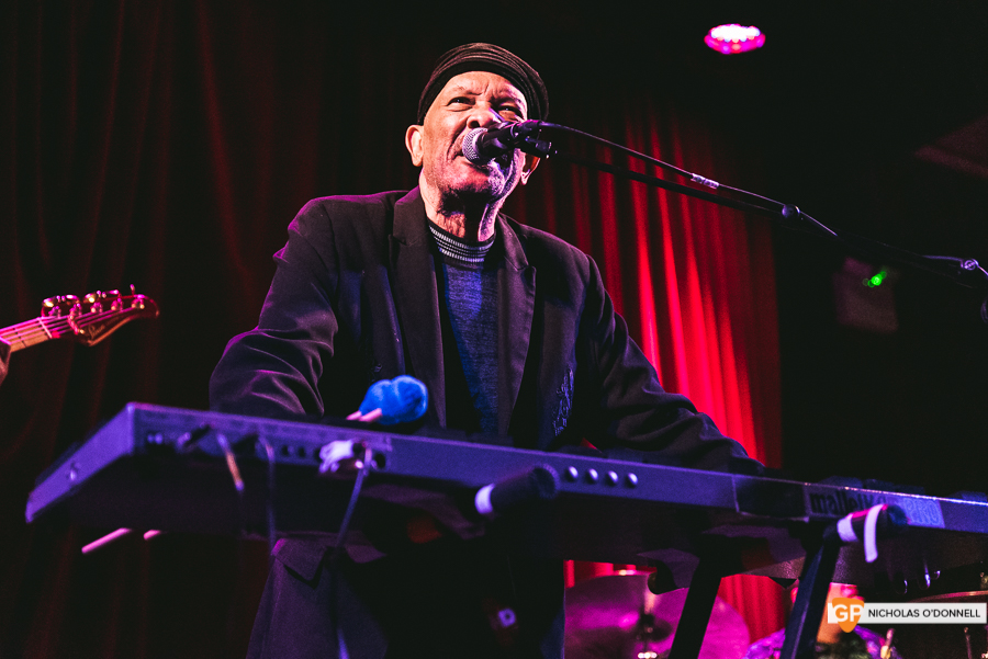 Roy Ayers peforming in The Sugar Club, Dublin. Photographs by Nicholas O'Donnell. (13 of 15)