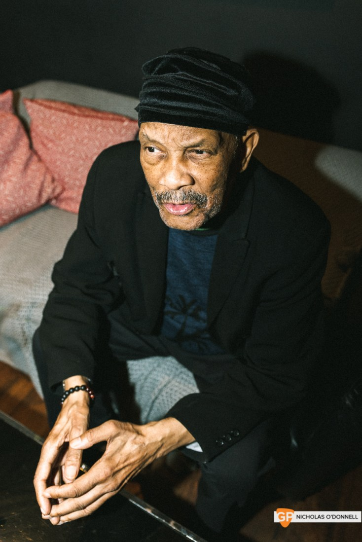 Roy Ayers peforming in The Sugar Club, Dublin. Photographs by Nicholas O'Donnell. (2 of 15)