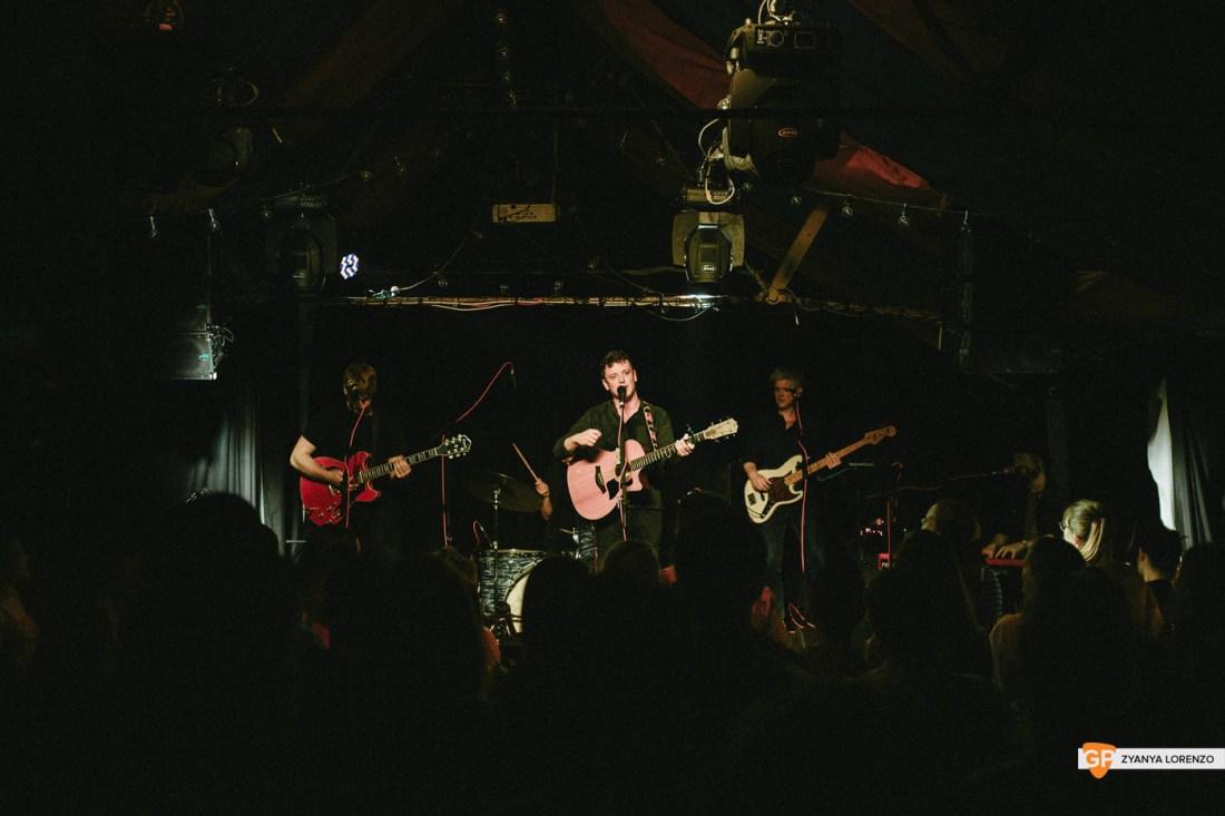 Dan Elliott live at The Grand Social, Dublin. Photographed by Zyanya Lorenzo.
