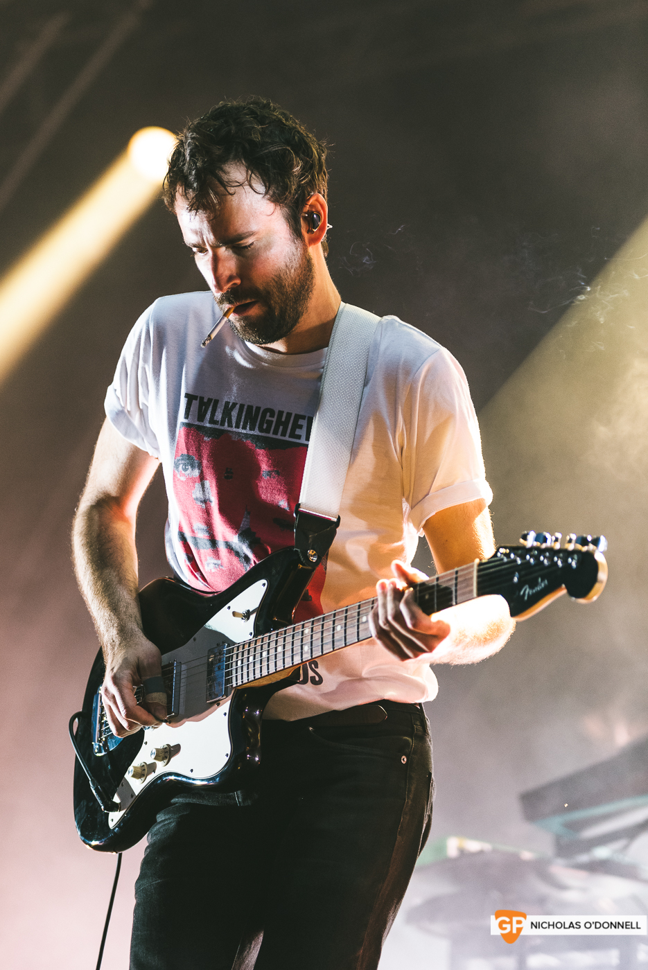 Foals performing at the Summer Series in Trinity College. Photographs by Nicholas O'Donnell. (18 of 19)