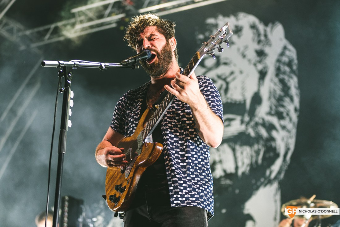 Foals performing at the Summer Series in Trinity College. Photographs by Nicholas O'Donnell. (19 of 19)